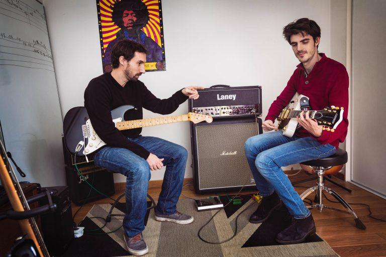Cours de basse et guitare apprentissage à vaulx-en-velin, est lyon